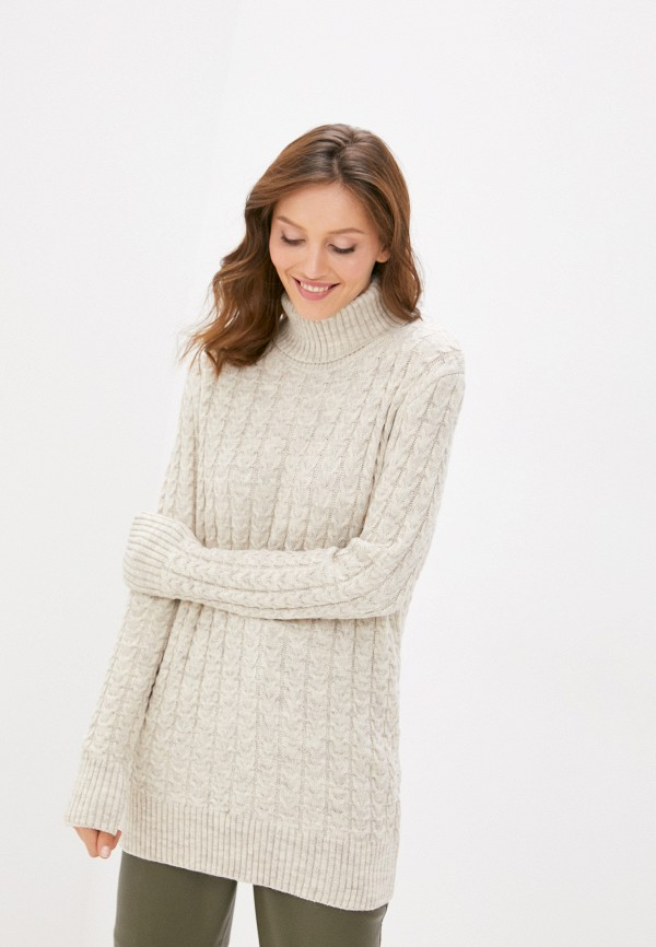 женский свитер lenavi, бежевый