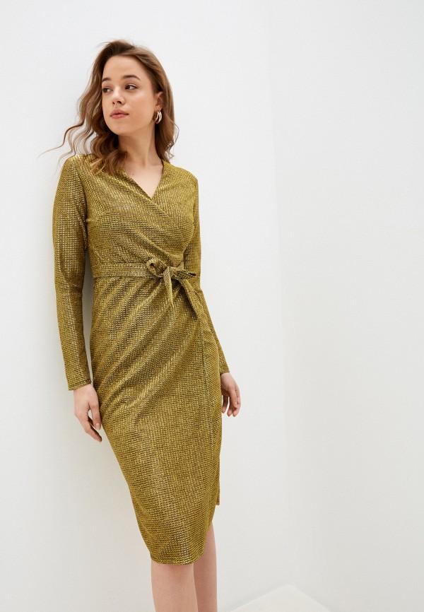 женское вечерние платье lenavi, золотое
