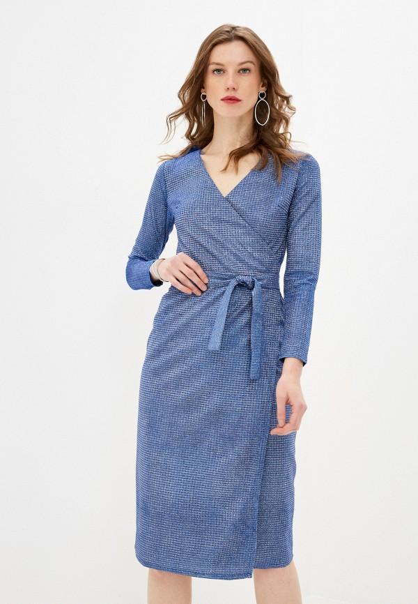 женское вечерние платье lenavi, синее