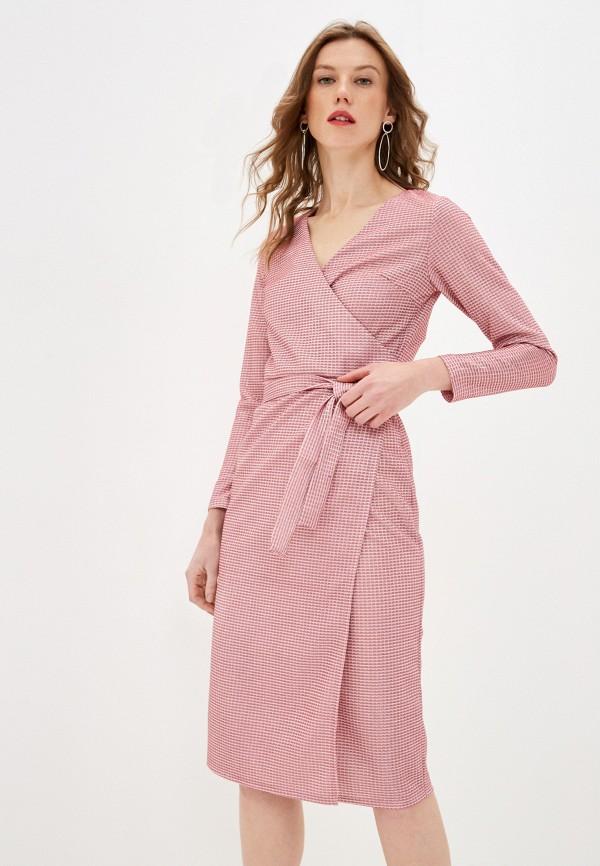 женское вечерние платье lenavi, розовое