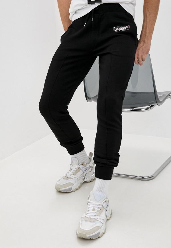 мужские спортивные брюки les hommes, черные