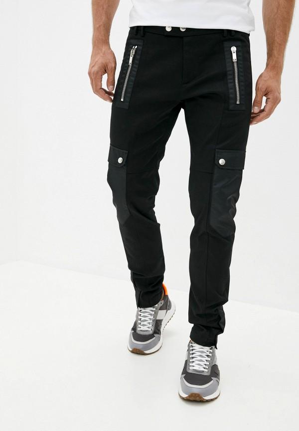мужские повседневные брюки les hommes, черные