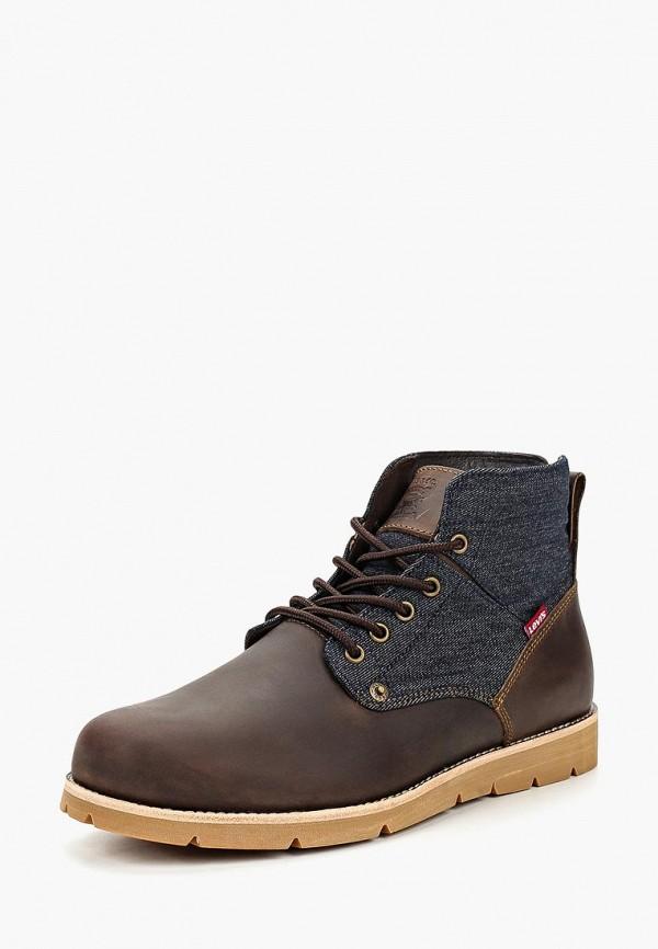 Купить Ботинки Levi's®, JAX, LE306AMCOWQ3, коричневый, Осень-зима 2018/2019