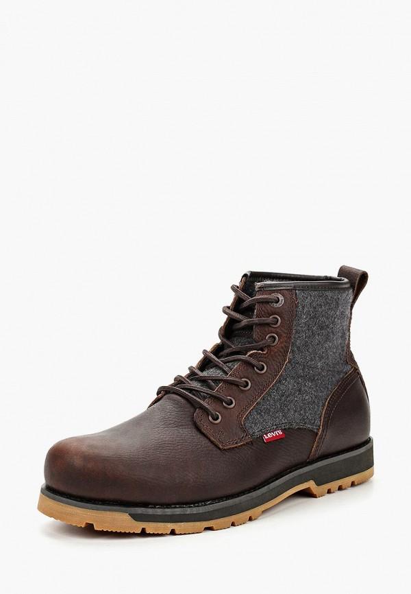 Ботинки Levi's®, LOGAN, LE306AMCOWQ8, коричневый, Осень-зима 2018/2019  - купить со скидкой
