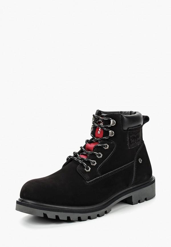 Купить Ботинки Levi's®, HODGES, LE306AMCOWR1, черный, Осень-зима 2018/2019