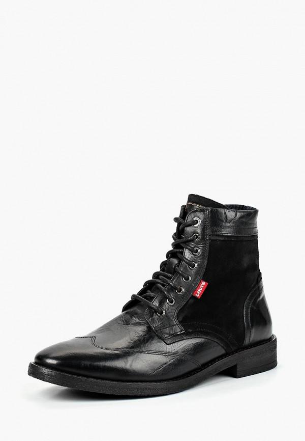 Купить Ботинки Levi's®, WHITFIELD, LE306AMCPOY4, черный, Осень-зима 2018/2019