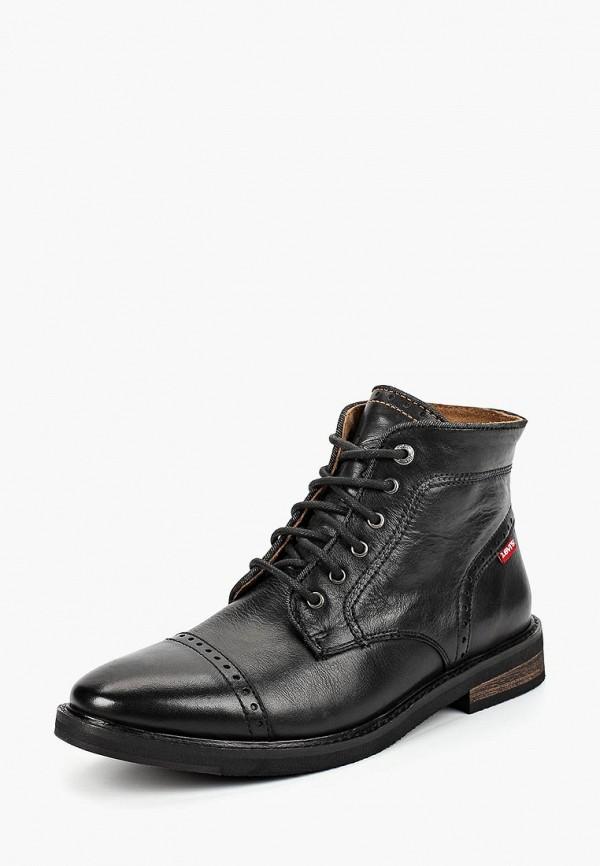 Купить Ботинки Levi's®, WOHLFORD, LE306AMCPOY5, черный, Осень-зима 2018/2019