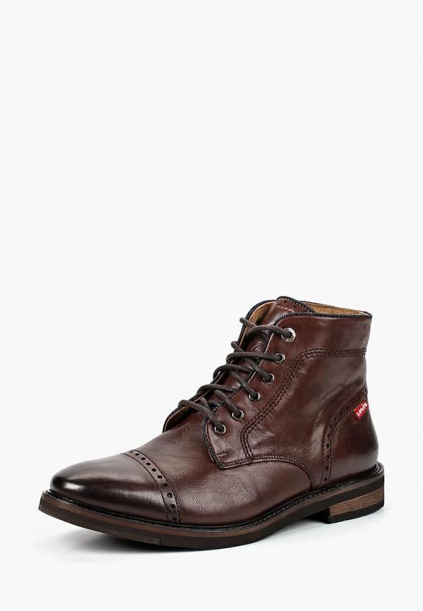 Купить Ботинки Levi's®, WOHLFORD, LE306AMCPOY6, коричневый, Осень-зима 2018/2019