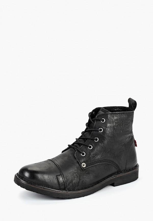 Купить Ботинки Levi's®, TRACK, LE306AMCPPS1, черный, Осень-зима 2018/2019