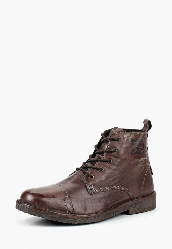 Купить Ботинки Levi's®, TRACK, LE306AMCPPS3, коричневый, Осень-зима 2018/2019