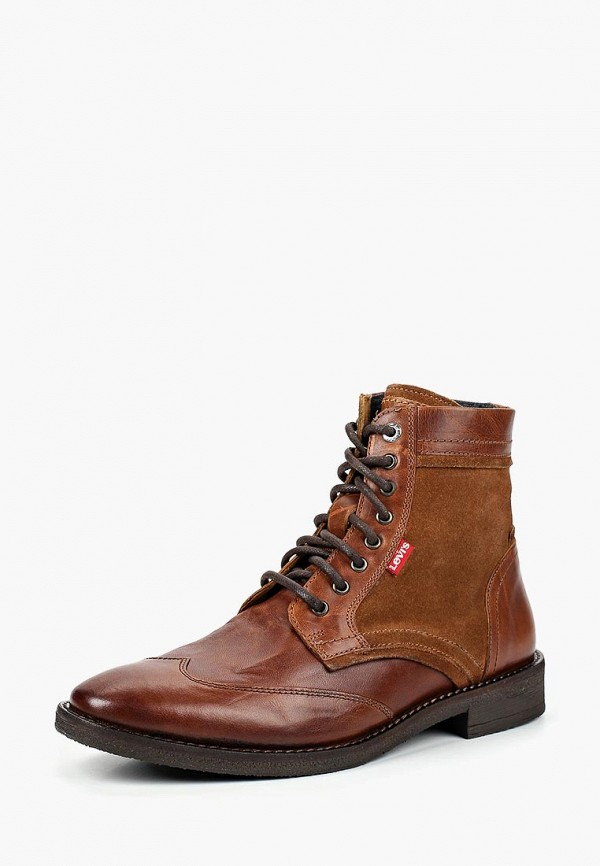 Купить Ботинки Levi's®, WHITFIELD, LE306AMCPPS4, коричневый, Осень-зима 2018/2019