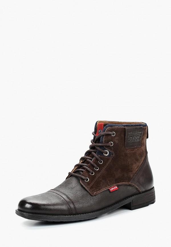 Купить Ботинки Levi's®, FOWLER, LE306AMCPPS5, коричневый, Осень-зима 2018/2019