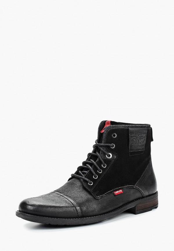 Купить Ботинки Levi's®, FOWLER, LE306AMCPPS6, черный, Осень-зима 2018/2019