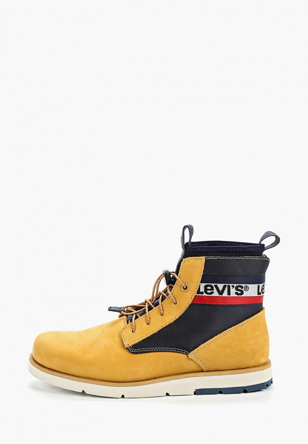 мужские ботинки levi's®, желтые