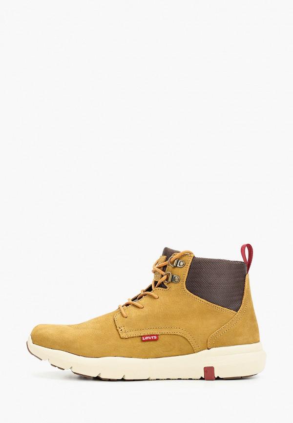 мужские ботинки levi's®, коричневые