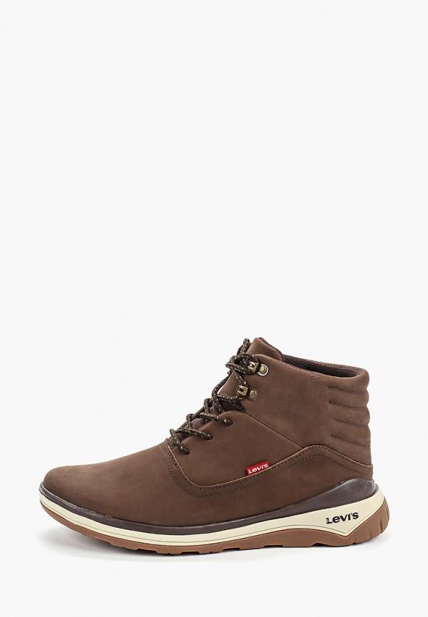 мужские кроссовки levi's®, коричневые