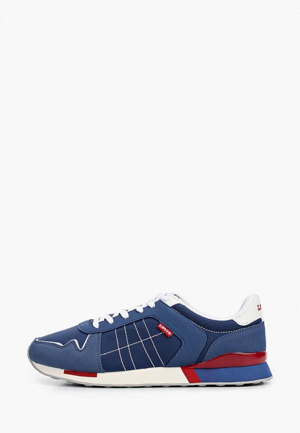 мужские низкие кроссовки levi's®, синие
