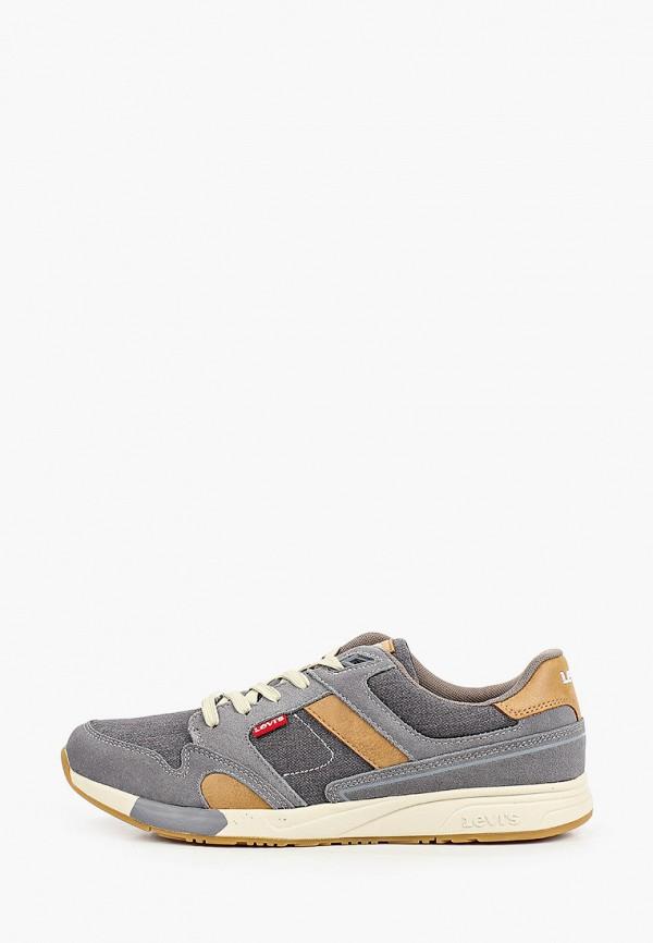 мужские низкие кроссовки levi's®, серые