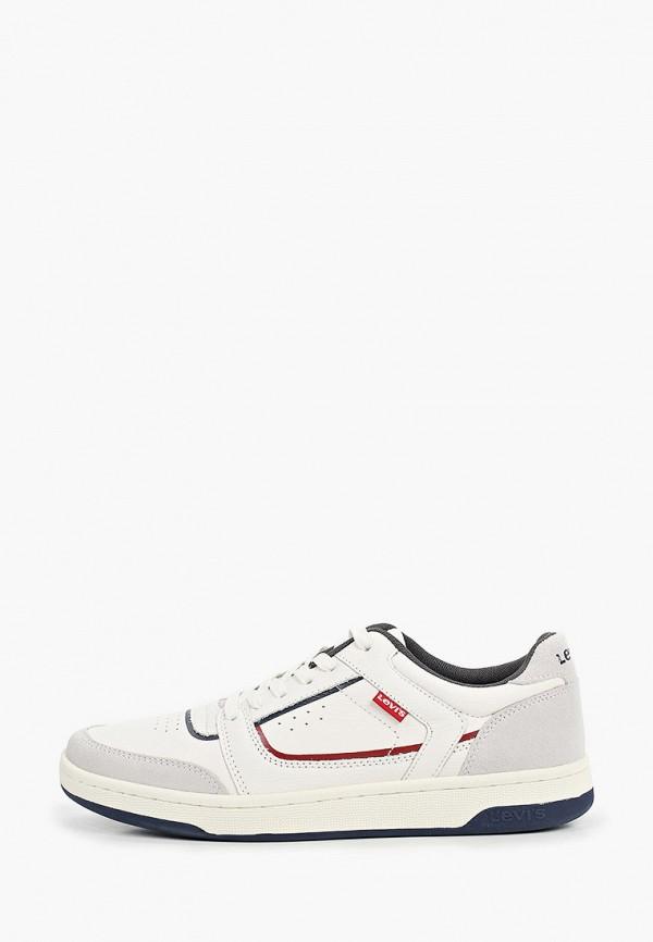 мужские низкие кроссовки levi's®, белые