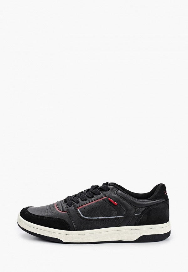 мужские низкие кроссовки levi's®, черные