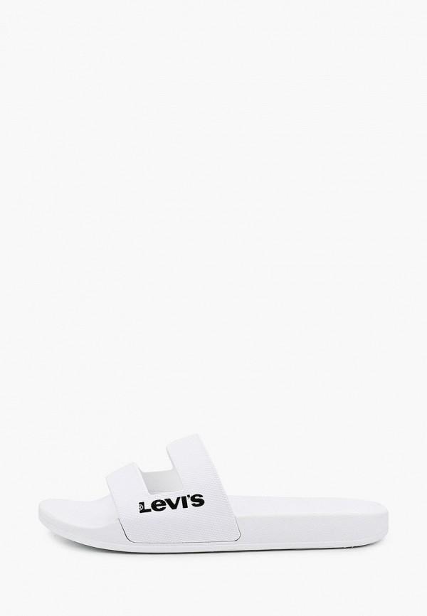 мужские сланцы levi's®, белые