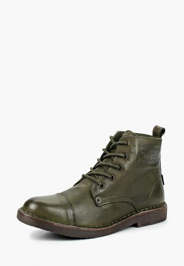 Купить Ботинки Levi's®, LE306AWCOWP7, зеленый, Осень-зима 2018/2019