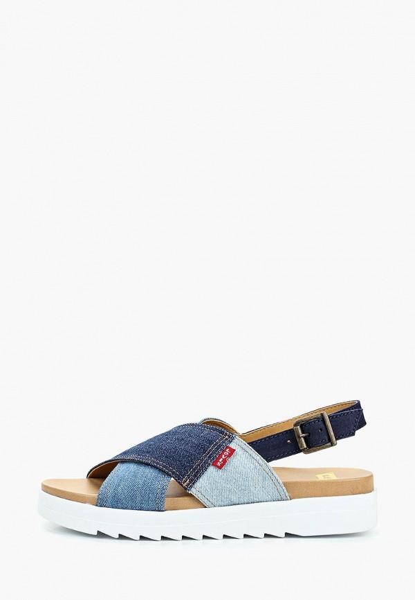 женские сандалии levi's®, синие