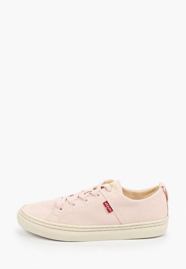 женские кеды levi's®, розовые