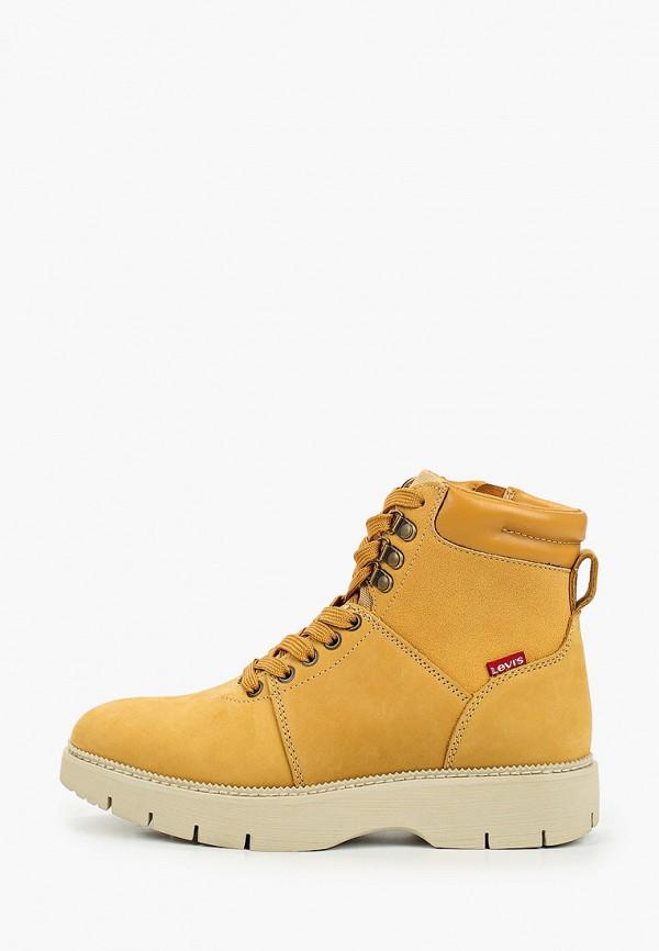 женские ботинки levi's®, желтые