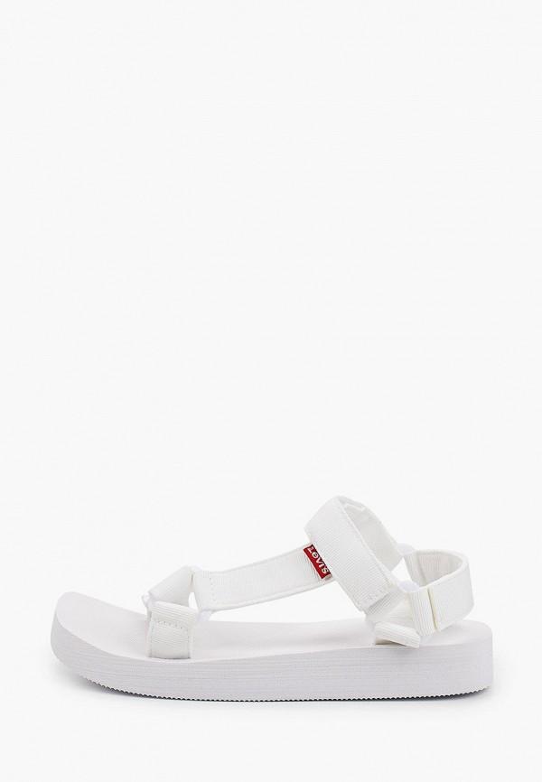 женские сандалии levi's®, белые