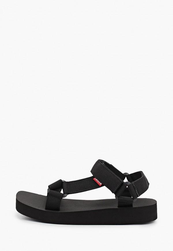 женские сандалии levi's®, черные
