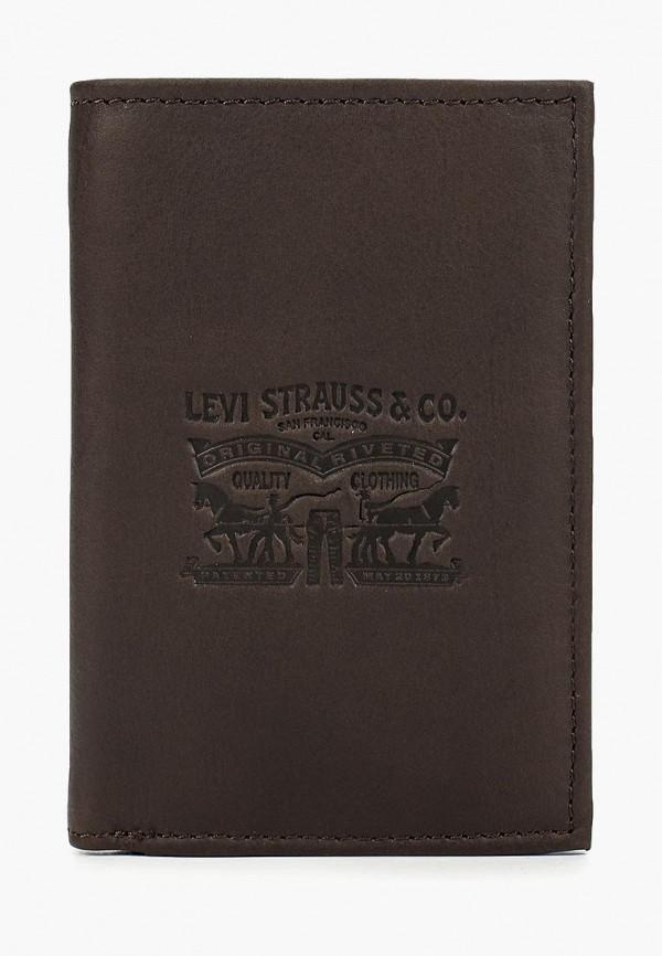 мужской кошелёк levi's®, коричневый