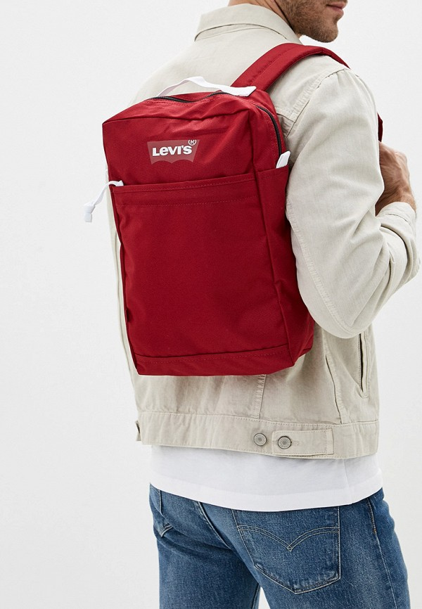 Фото 4 - Рюкзак Levi's® красного цвета