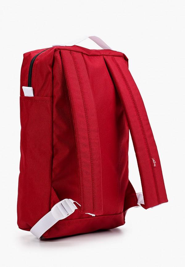Фото 2 - Рюкзак Levi's® красного цвета