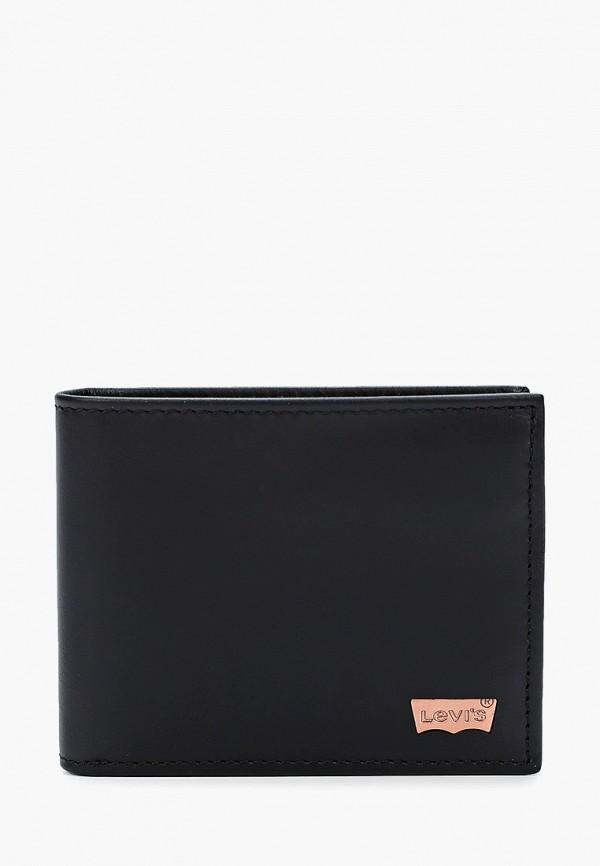 мужской кошелёк levi's®, черный