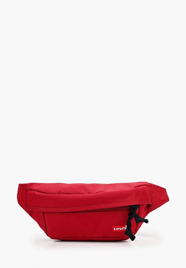 мужская поясные сумка levi's®, бордовая