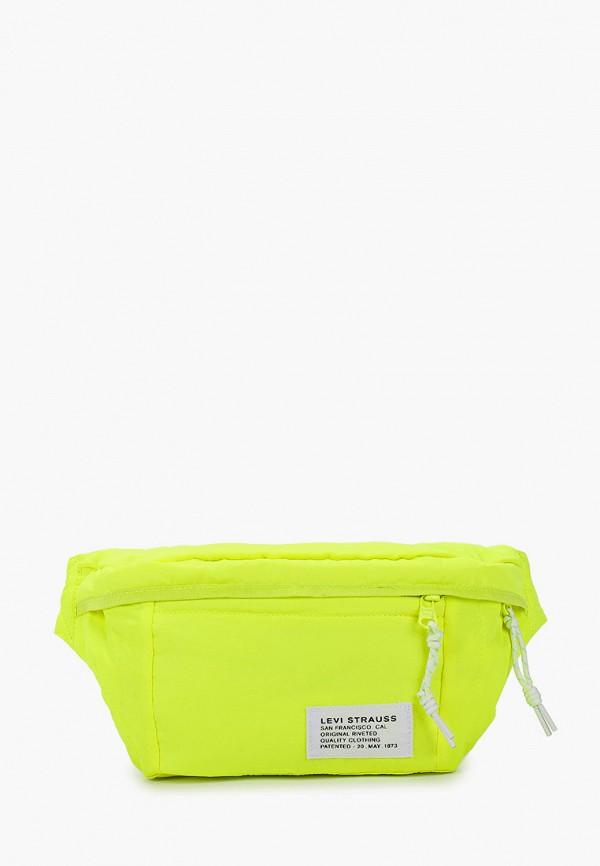 мужская сумка levi's®, желтая