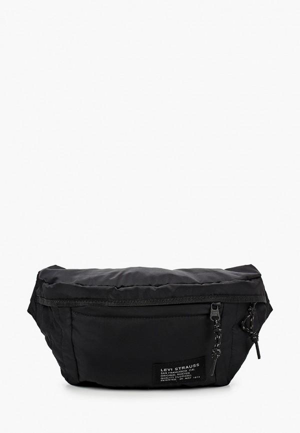 мужская сумка levi's®, черная