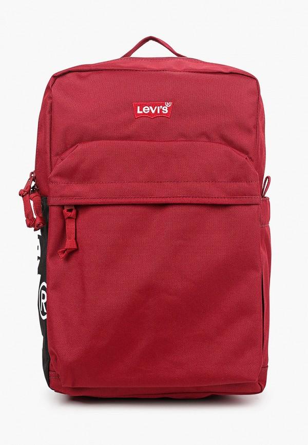 мужской рюкзак levi's®, бордовый