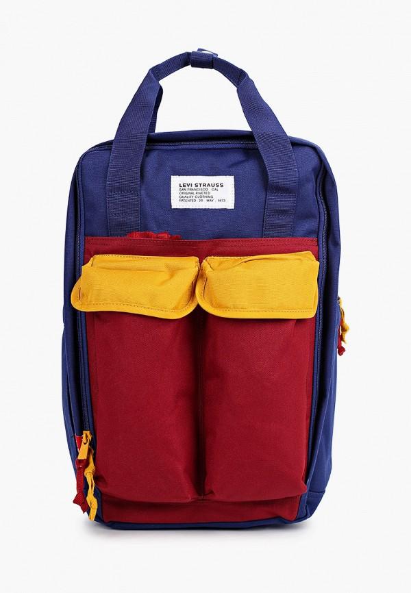 мужской рюкзак levi's®, синий
