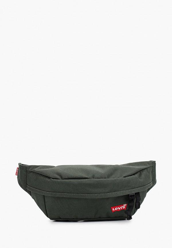 мужская поясные сумка levi's®, зеленая