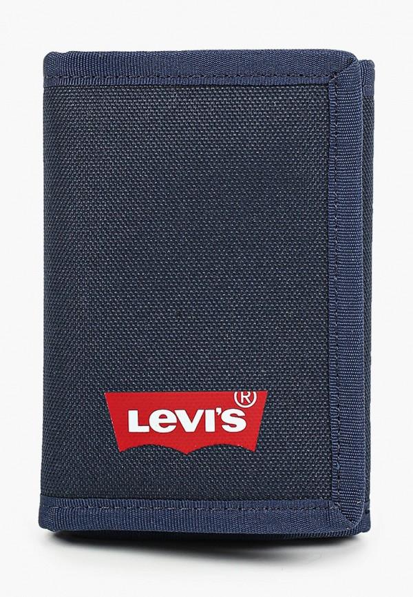 мужской кошелёк levi's®, синий
