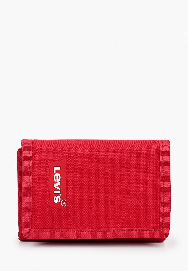 мужской кошелёк levi's®, красный