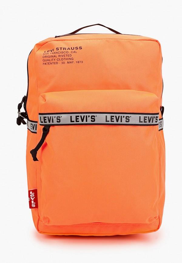 женский рюкзак levi's®, оранжевый