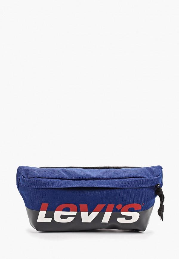 женская сумка levi's®, синяя