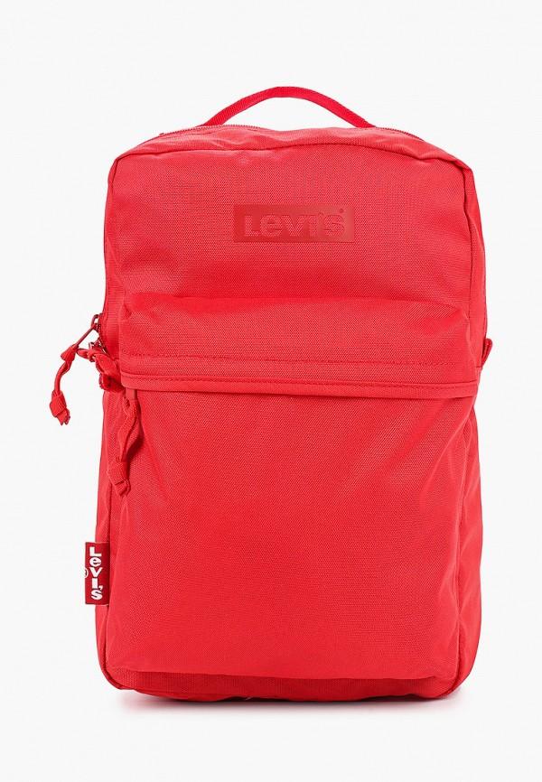 женский рюкзак levi's®, красный