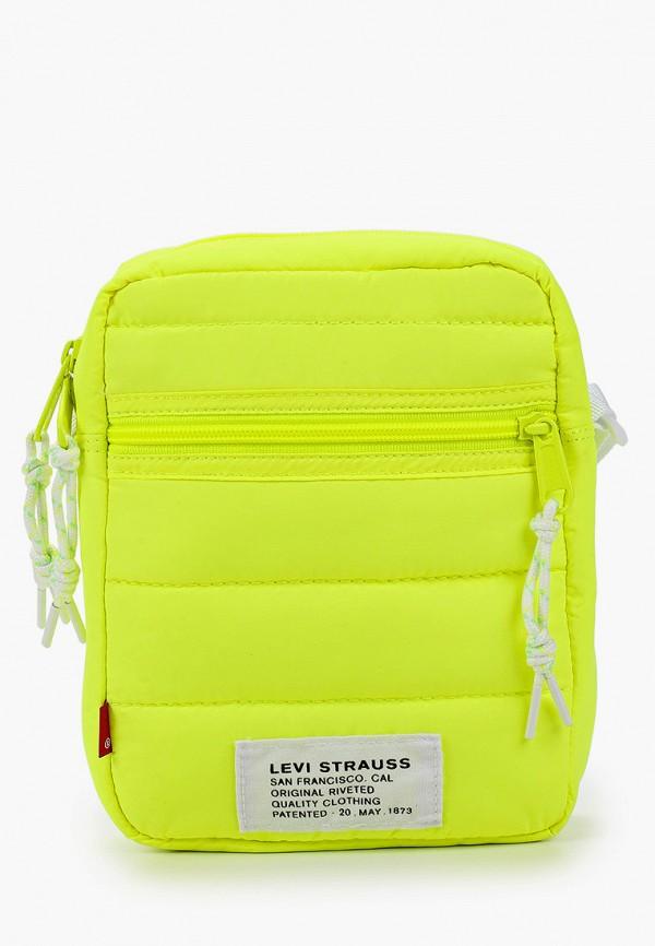 женская сумка через плечо levi's®, желтая