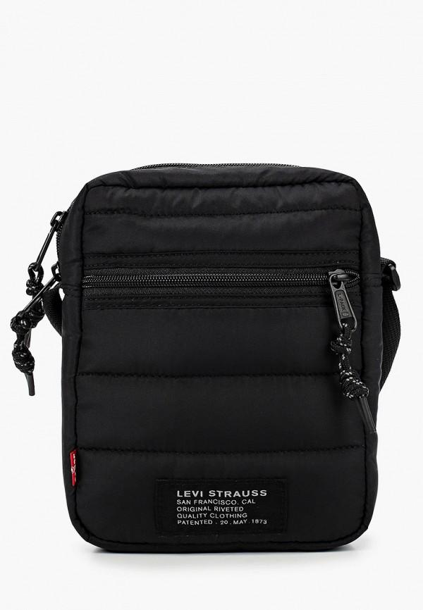 женская сумка через плечо levi's®, черная