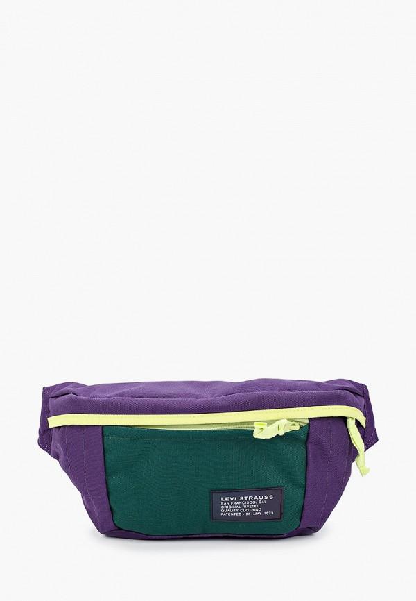 женская поясные сумка levi's®, разноцветная