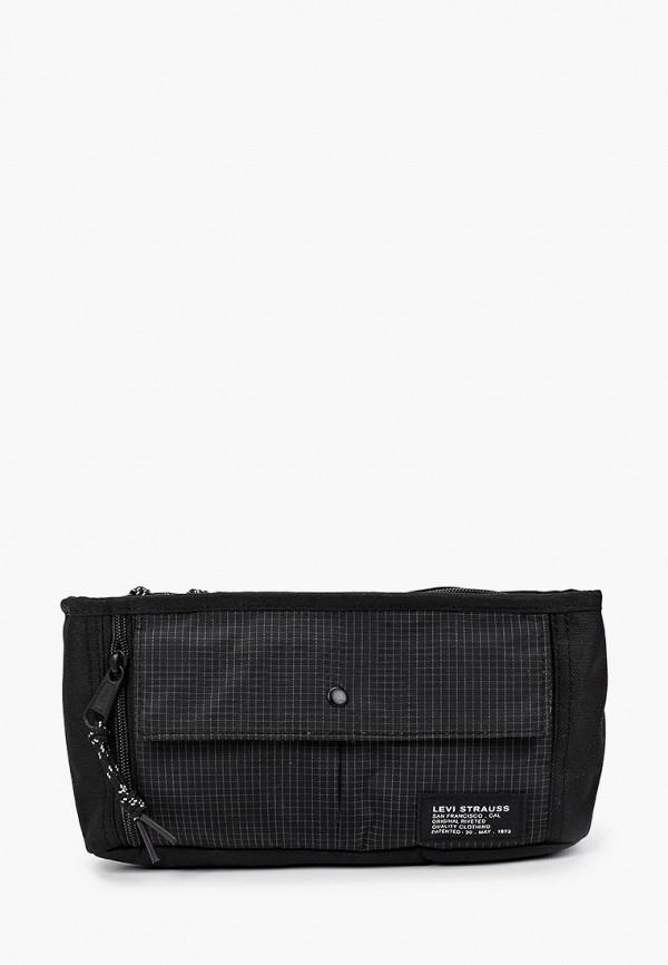 женская поясные сумка levi's®, черная